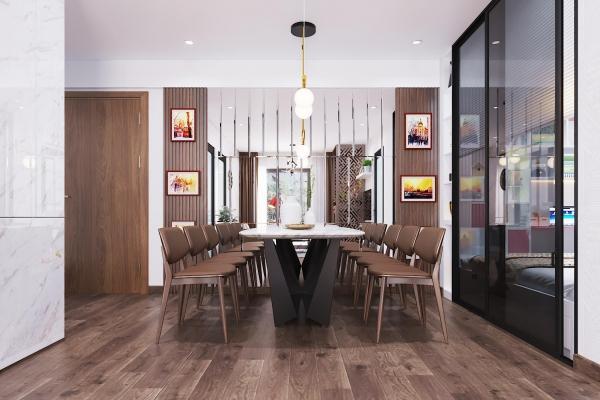 Giá thi công nội thất chung cư trọn gói thay đổi do chất liệu nội thất