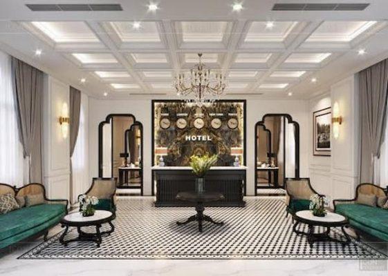 giá thiết kế nội thất khách sạn