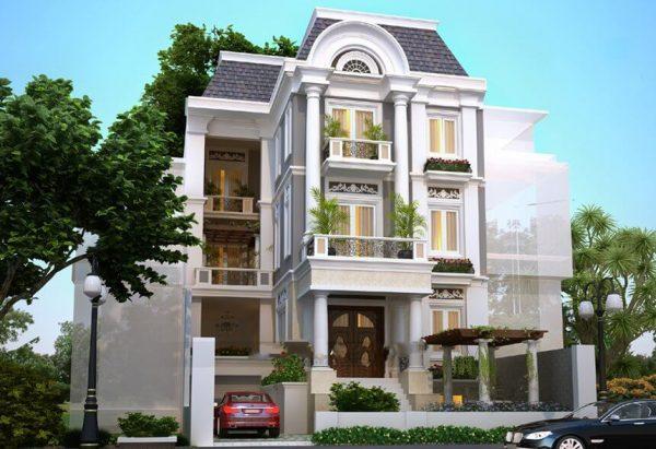 5 Nguyên tắc thiết kế biệt thự tân cổ điển đẹp, ấn tượng, nhamoi.net